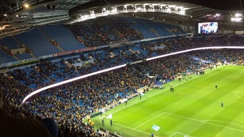 Manchester City Stadium Empty Seats